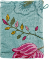 Pip Studio Floral Fantasy Towel - Light Petrol - Wash Mitt