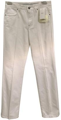 Armani Collezioni White Denim - Jeans Jeans for Women