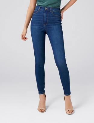 Forever New Bella High-Rise Sculpting Jeans - Ocean Blue - 4
