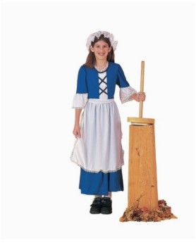 BuySeasons Big Girl's Pioneer Costume