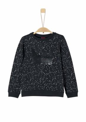 S'Oliver Girl's 53.811.41.4035 Sweatshirt