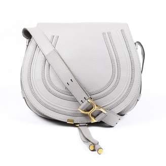 Chloé Marcie Grey Leather Handbags
