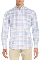 Tailorbyrd Regular-Fit Hawthorn Plaid Cotton Sportshirt
