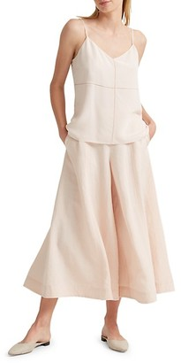 Club Monaco Cropped Wide-Leg Pants