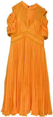 Self-Portrait Yellow Lace Dresses