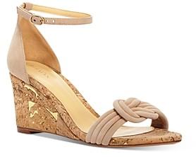 Alexandre Birman Women's Vicky Cork Wedge Sandals