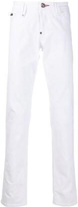 Philipp Plein Supreme low-rise straight jeans