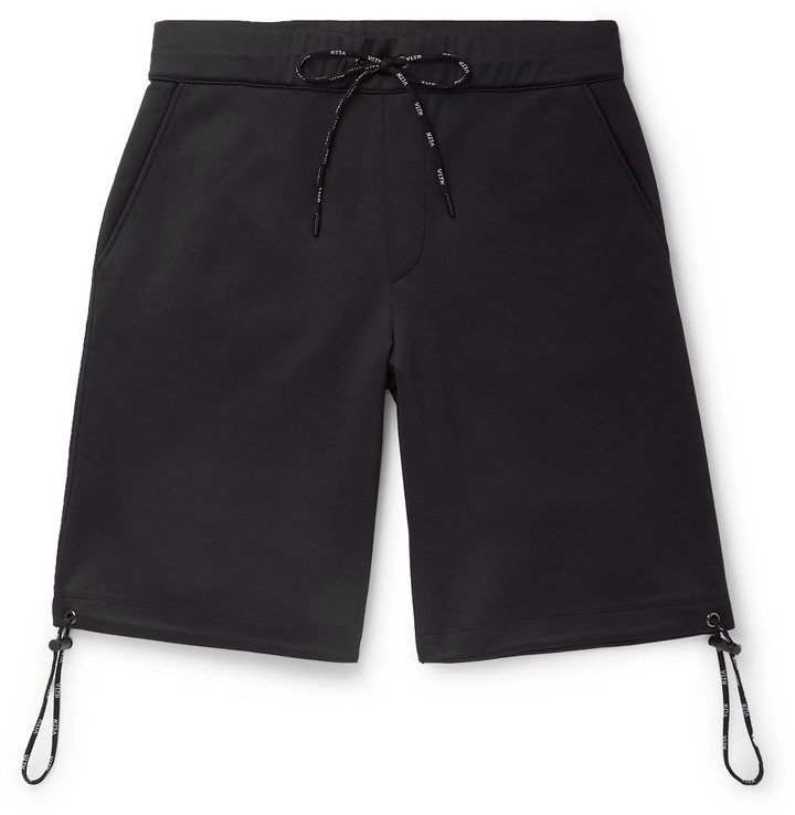 Valentino Logo-Print Tech-Jersey Shorts