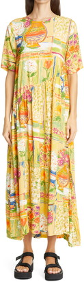 Collina Strada Ritual Floral Print Dress
