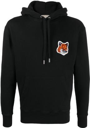 MAISON KITSUNÉ Chest Logo Hoodie