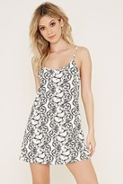 Forever 21 Cat Graphic Cami Nightdress