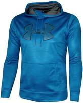 Under Armour Men's Storm Fleece Big Logo Hoodie Athletic Hooded Printed Shirt (XL)