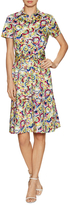 Carolina Herrera Cotton Print Shirt Dress