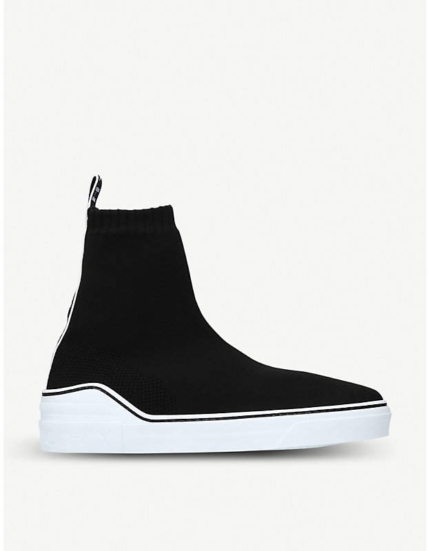 Givenchy George V stretch-knit trainers