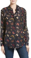 Equipment Women's Essential Sheer Cotton & Silk Shirt