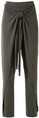 Uma | Raquel Davidowicz Mecca tie waist trousers