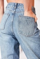 GUESS Isabelle High-Rise Straight-Leg Jean