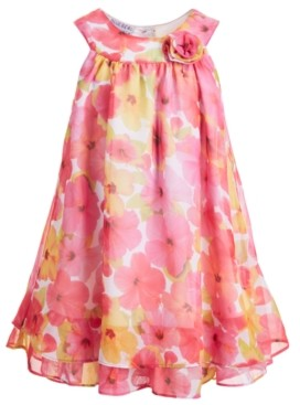 Blueberi Boulevard Toddler Girls Floral Dress