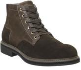 G Star Garber Derby Boots Dk Brown