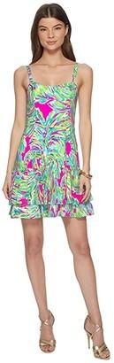 Lilly Pulitzer Morgana Dress (Raz Berry Shady Lady) Women's Dress