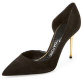 Tom Ford Suede D'Orsay Pump