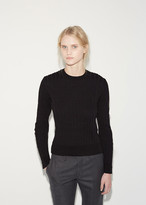 Comme des Garcons Ribbed Pullover