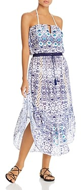 Ramy Brook Printed Luana Dress Swim Cover-Up