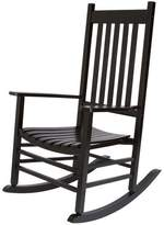 Andover Mills Emjay Rocking Chair Color: Oak