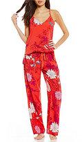 Josie Floral Challis Racerback Pajamas