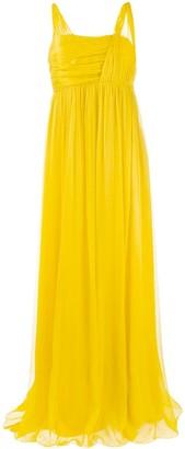 Pinko Long Chiffon Dress
