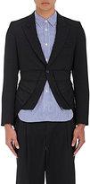 Comme des Garcons Men's Gabardine Single-Button Sportcoat-BLACK