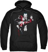 Batman DC Comics Harley Quinn And Joker Adult Pull-Over Hoodie