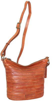 Nino Bossi Handbags Women's Handbags Cognac - Cognac Saige Leather Crossbody Bag