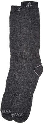 Wigwam 40deg Below II (Black) Crew Cut Socks Shoes