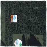 Kenzo patch scarf