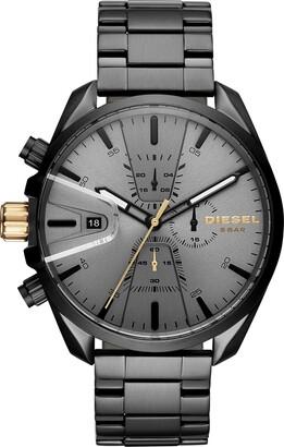 Diesel Men's Chronograph Quartz Watch with Stainless Steel Strap DZ4474