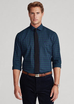 Ralph Lauren Custom Fit Plaid Poplin Shirt