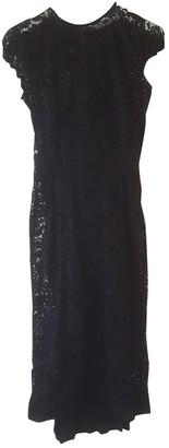 Victoria Beckham Black Lace Dress for Women