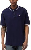 Fila Men's Matcho 3 Short Sleeve Cotton Polo Shirt Sz: L