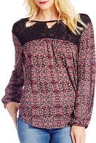 Jessica Simpson Fifi Lace Cutout Top