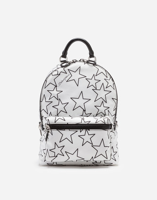 Dolce & Gabbana Mixed Star Print Nylon Vulcano Backpack