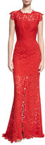 Rachel Zoe Estelle Cutout Maxi Dress, Red