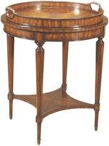 Maitland-Smith Aged Regency Round Side Table, Mahogany