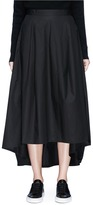 Y-3 High low poplin skirt