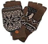 Muk Luks Men's Traditional Nordic Flip Glove