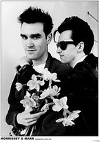 Poster Revolution Morrissey & Johnny Marr (The Smiths) Music Poster - 24x33
