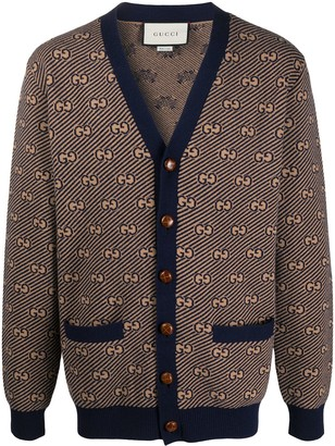 Gucci GG embroidered cardigan