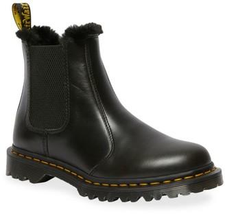 Dr. Martens 2976 Leonore Faux-Fur Lined Chelsea Boots