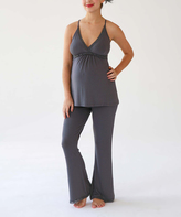 Belabumbum Gunmetal Before & After Nursing Cami