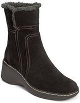 Aerosoles Side Kick Fleece Trim Suede Boots